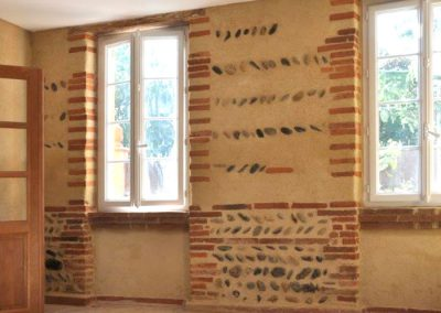 Rénovation murale intérieure