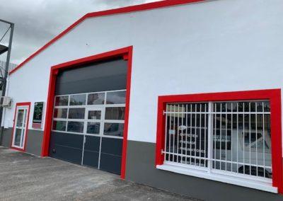 Rénovation façade industrielle